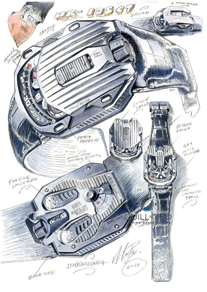 'Arm's Length Architecture': Building Blocks To Watchmaking As Exemplified By Some Of Today's Wristwatches Including Urwerk, Nomos, Mido And Girard-Perregaux - Reprise   Quill & Pad