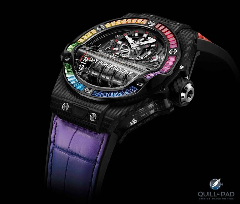 5 Standouts From Hublot's 2021 Digital LVMH Watch Week: And, Yes, We Have Rainbows | Quill & Pad