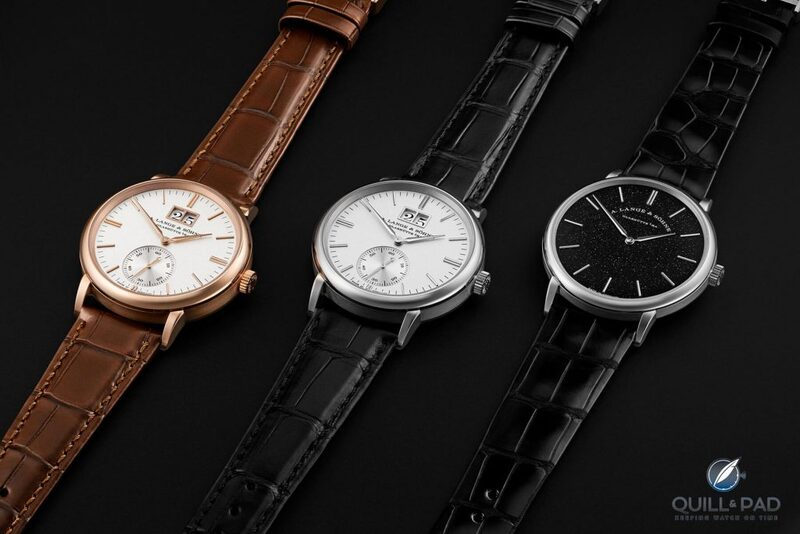 A. Lange & Söhne Highlights The Difference A Dial Makes With 2020 Saxonia Thin And Saxonia Outsize Date Models | Quill & Pad