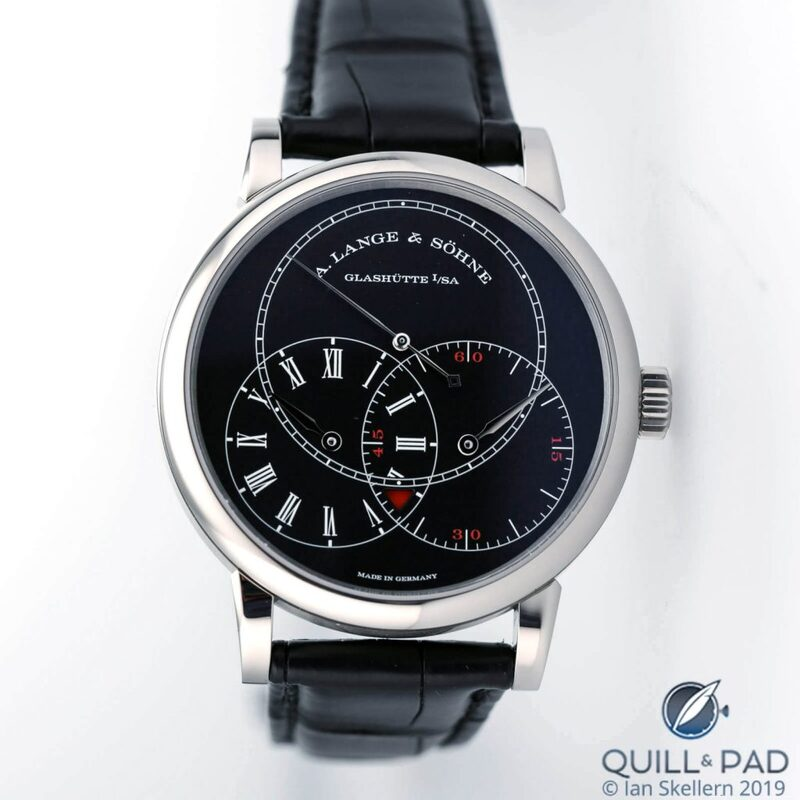 A. Lange & Söhne Richard Lange Jumping Seconds: Jump For Joy | Quill & Pad