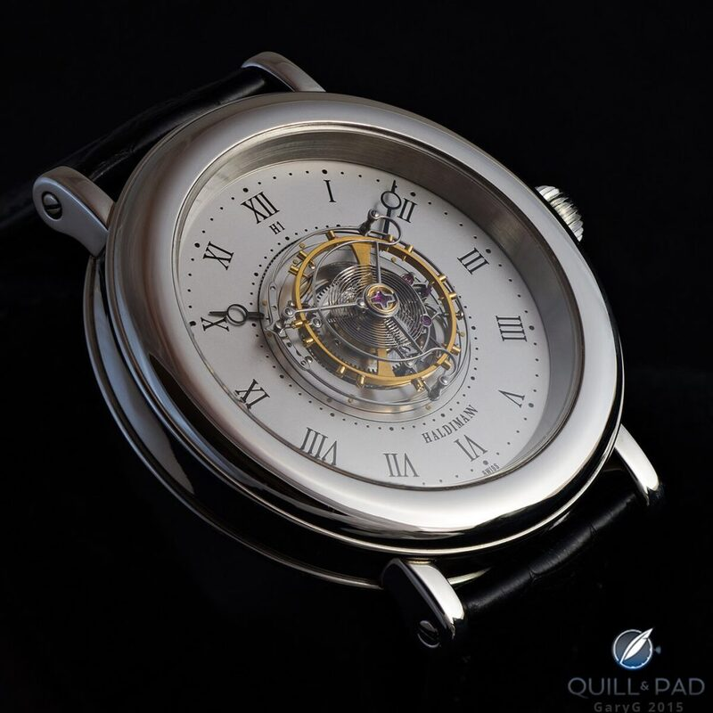 Behind The Lens: Beat Haldimann H1 Flying Central Tourbillon - Reprise   Quill & Pad