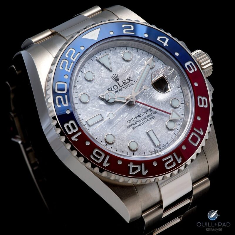 Behind The Lens: Rolex GMT-Master II Meteorite, Where Global Travel Meets Outer Space | Quill & Pad