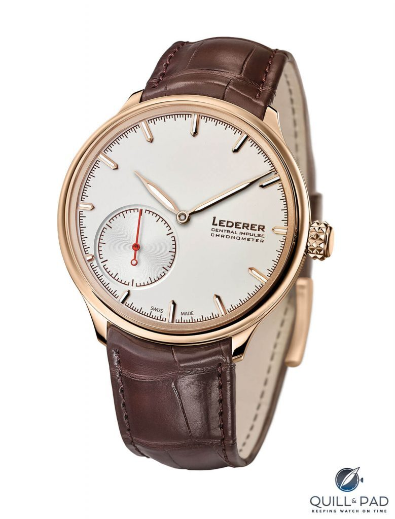 Bernhard Lederer Central Impulse Chronometer*: A Superlative Watch But Is It Really A Chronometer? | Quill & Pad
