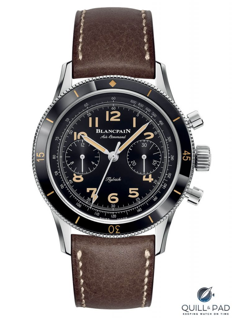 Blancpain Air Command: A Contemporary Remake Of An Officer And A Gentleman   Quill & Pad