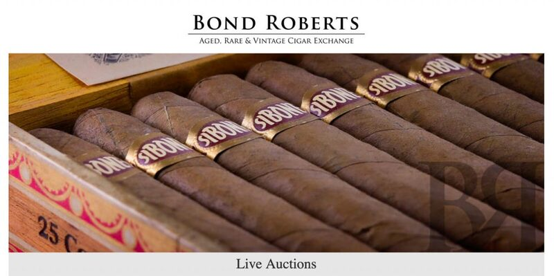 Bond Roberts Cigar Auctions: Avoid The Plethora Of Fake Cigars With This Trustworthy Source   Quill & Pad