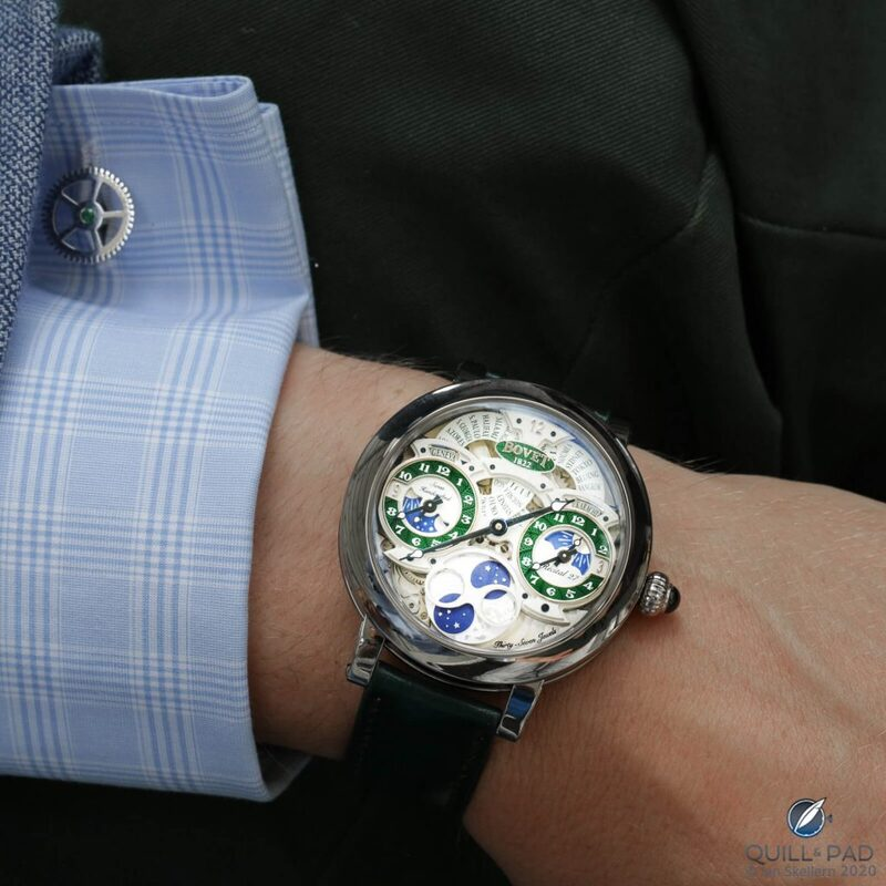 Bovet Récital 27: The Trinity Of Time | Quill & Pad