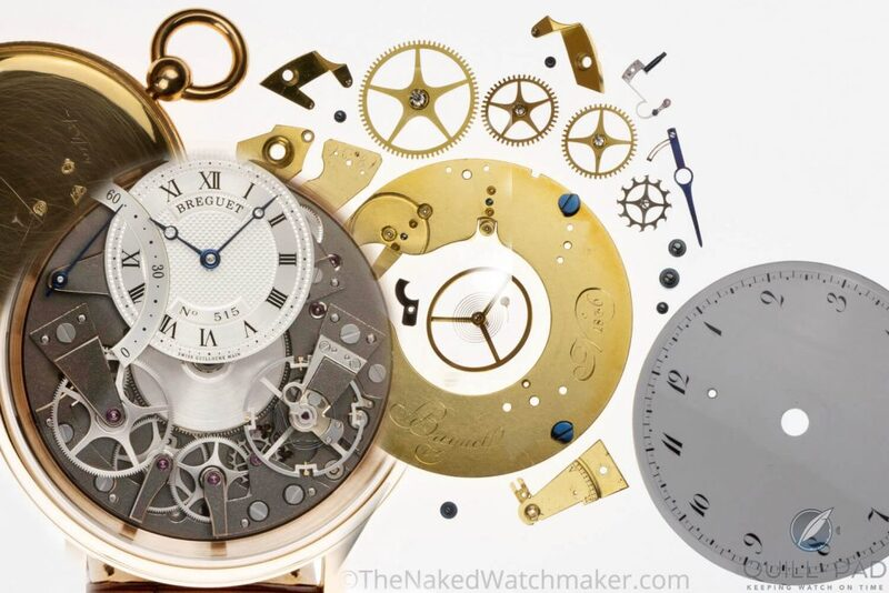 Breguet Tradition Automatique Seconde Rétrograde 7097 And Abraham-Louis Breguet Souscription Pocket Watch Deconstructions: What The Naked Watchmaker Didn't Reveal - Reprise   Quill & Pad