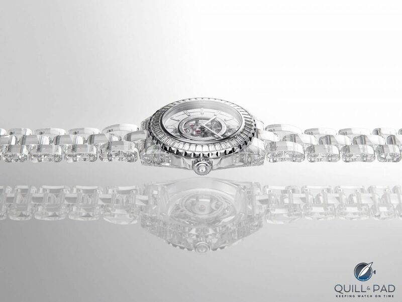 Chanel Celebrates 20 Years Of The J12 With The X-Ray: The World's First Watch With A Full Sapphire Crystal Bracelet | Quill & Pad