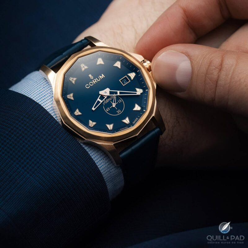 Corum Admiral 42 Automatic Bronze For 2020: A Nautically Inspired Watch Perfect For Landlubbers | Quill & Pad