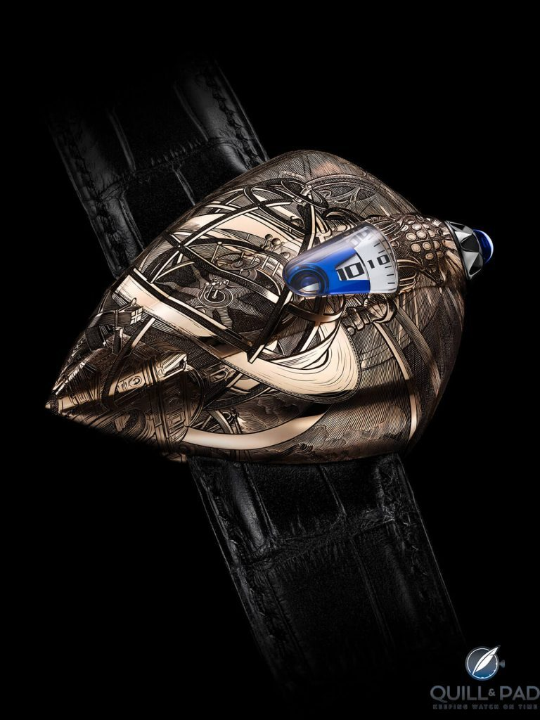 De Bethune DW5 Armilia: Science Fantasy Turned Horological Reality | Quill & Pad