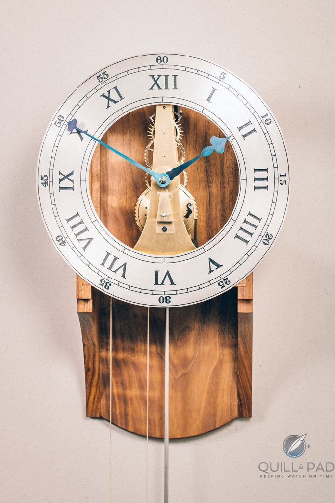 F.P. Journe Young Talent Competition 2019 Winner Tyler John Davies Shows His Equilibrium   Quill & Pad