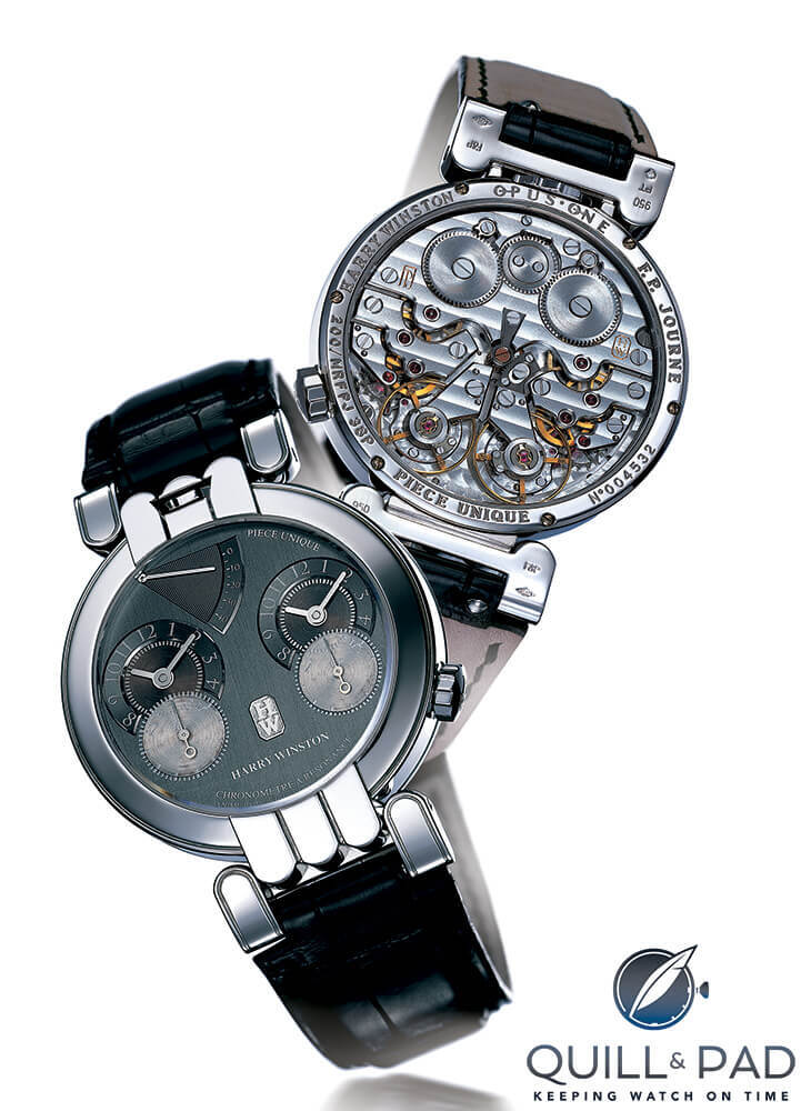 Felix Baumgartner, Urwerk, Harry Winston, And The Opus V: Where On Earth Did That Come From? - Reprise   Quill & Pad