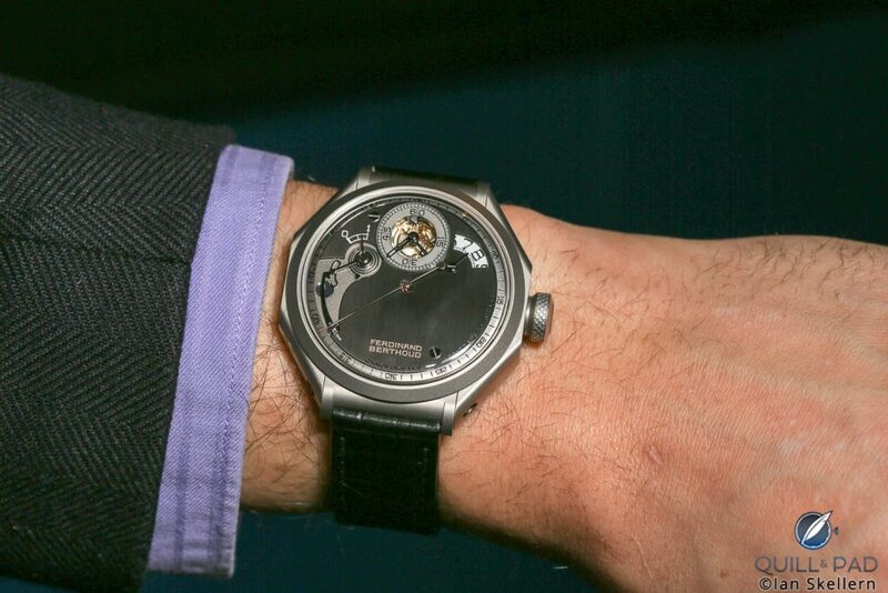 Ferdinand Berthoud Chronomètre FB 1: Chain-And-Fusée Constant Force And Tourbillon, But Sapphire Crystal Was The Greatest Challenge | Quill & Pad