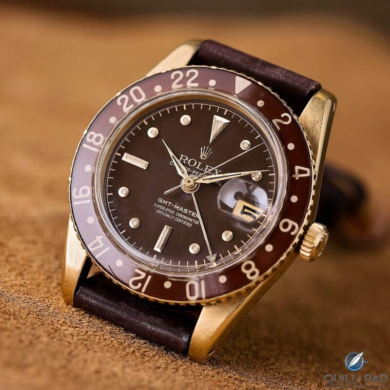 First Rolex GMT-Master Reference 6542, And Why The Gold Version Is Much More Desirable - Reprise   Quill & Pad