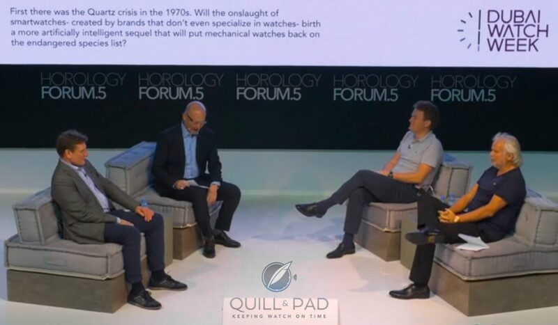 GaryG Reflects On Apocalypse II As The 2019 Dubai Watch Week Horology Forum Panel Discusses The Impact Of Connected Watches (Video) | Quill & Pad