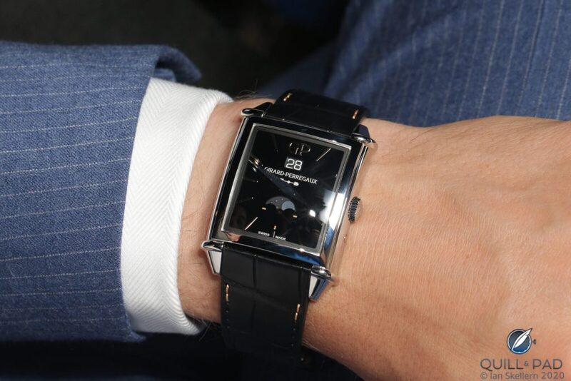 Girard-Perregaux Vintage 1945 Infinity: Black Onyx Dial, Steel Case, And Vintage Flair | Quill & Pad