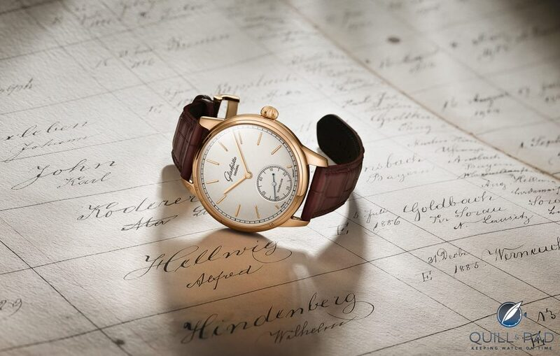 Glashütte Original Limited Edition Flying Tourbillon Honoring Alfred Helwig, The German School Of Watchmaking, And Glashütte's 175th Anniversary | Quill & Pad