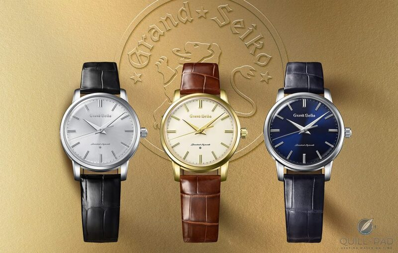 Grand Seiko 1960 Re-Creations: Celebrating A Turning Point | Quill & Pad