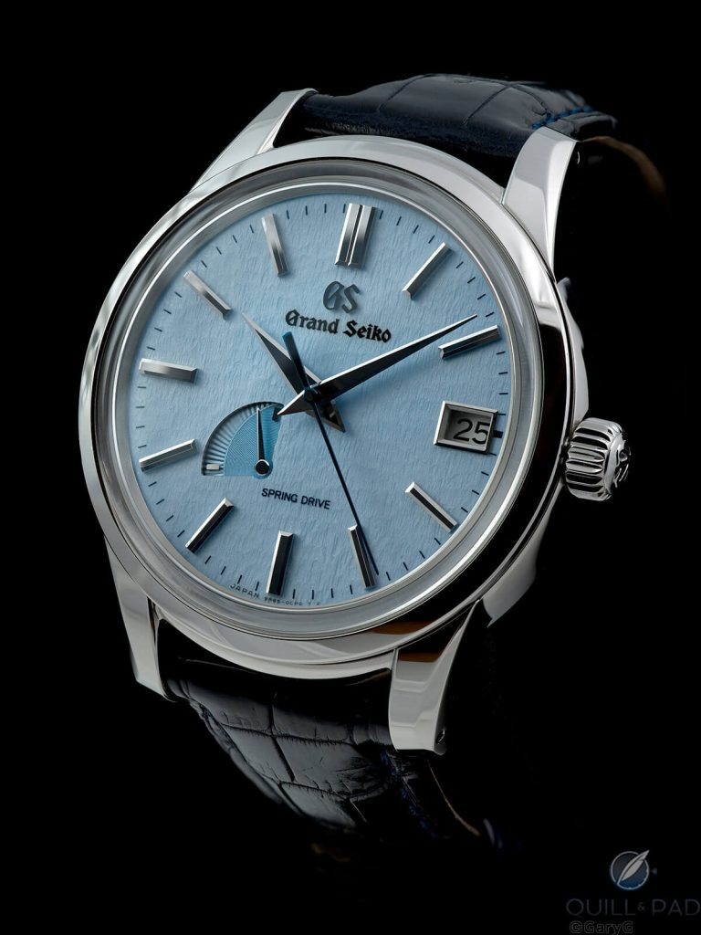 Grand Seiko Blue Snowflake Reference SBGA407: On The Wrist | Quill & Pad