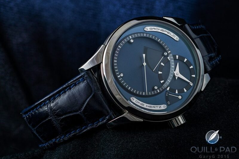 Grönefeld One Hertz: A Collector's Journey - Reprise | Quill & Pad