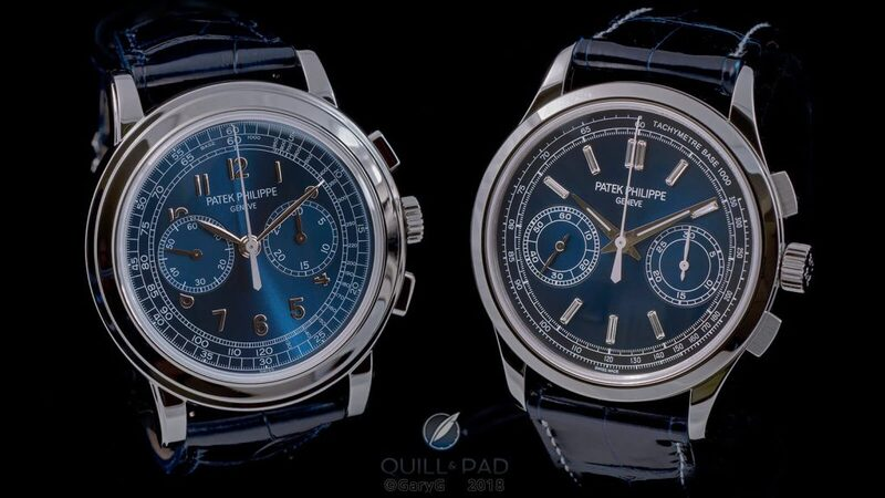 Heavyweight Bout: Patek Philippe Reference 5170P vs. 5070P (Plus 5070P-013 'London' Edition) Chronographs - Reprise   Quill & Pad