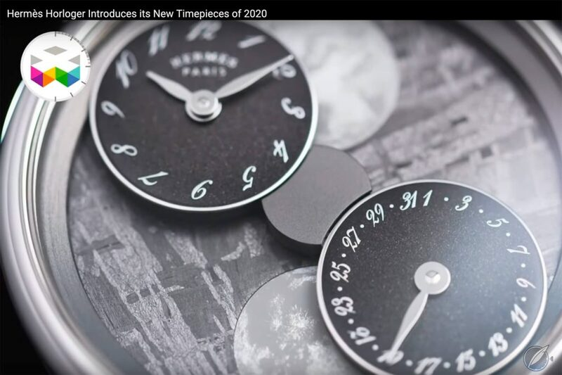 Hermès New Watches For 2020 Featuring The Daringly Different Aaaargh! (Video)   Quill & Pad