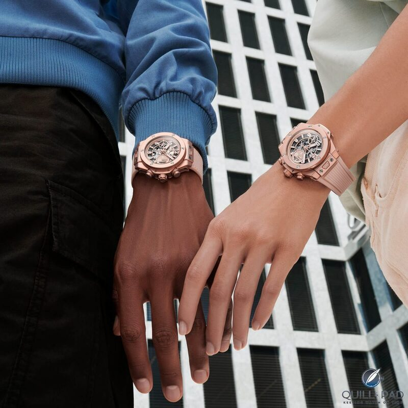 Hublot Big Bang Millennial Pink And Zenith Defy El Primero 21 Pink Edition: Is Pink The New Blue? And Does It Even Matter? | Quill & Pad