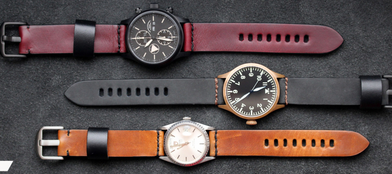 Introducing Horween Model 1 Watch Straps by worn&wound