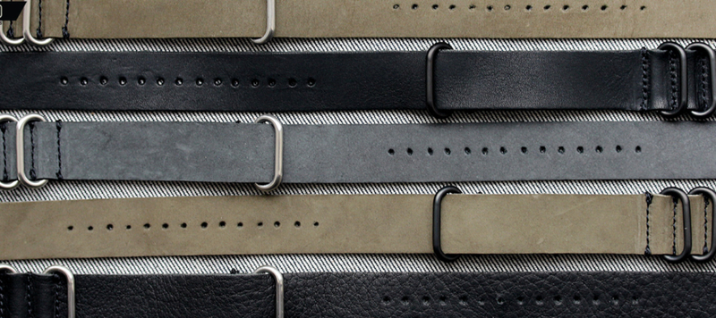Introducing Horween NYC NATOs in Three Colors