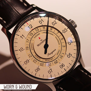 Introducing the MeisterSinger Pangaea Day Date