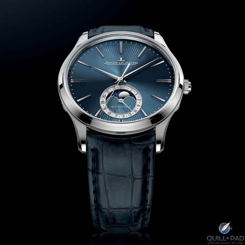 Jaeger-LeCoultre Master Ultra Thin Moon Enamel: Once In A Blue Moon   Quill & Pad
