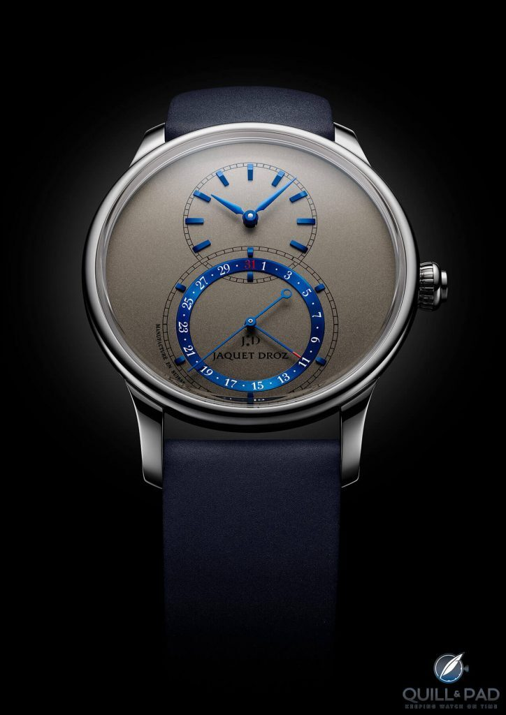 Jaquet Droz Grande Seconde Quantième 41 mm For 2020: Shifts In Perspective | Quill & Pad
