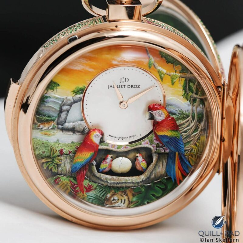 Jaquet Droz Parrot Repeater Pocket Watch: Celebrating 280 Years With Everything You've Got (Plus Video) | Quill & Pad