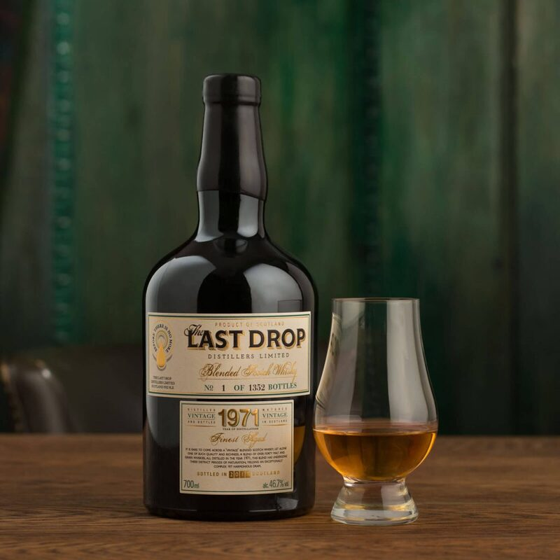 Last Drop 1971 Blended Scotch Whisky: Is This The World's Most Exclusive Whisky?   Quill & Pad