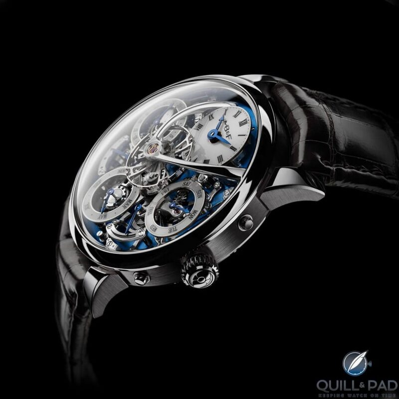 Legacy Machine Perpetual Catapults MB&F Into The Big League: Here's Why - Reprise | Quill & Pad