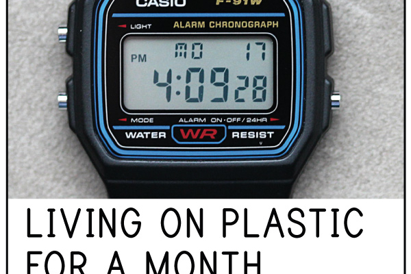 Living on Plastic – for a Month: Episode 3, The Devil's Watch?