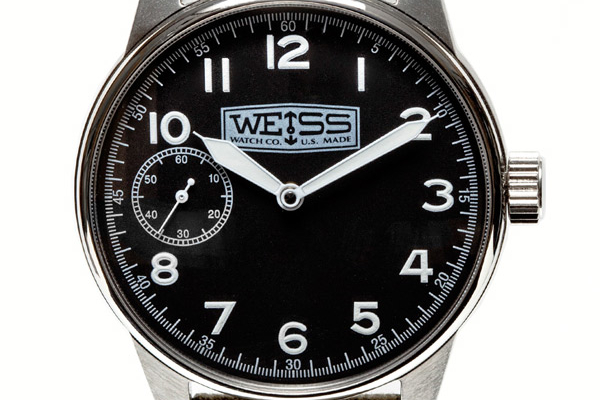 Made in the USA: Weiss Watch Company