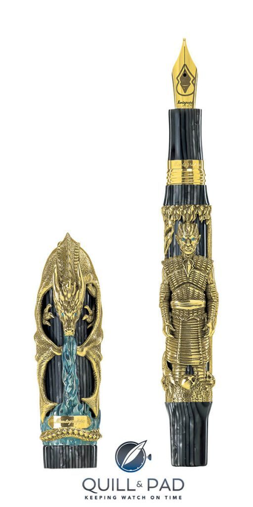 Montegrappa's Latest 'Game Of Thrones' Limited Edition Pens Prove That Winter Is Not Just Coming, It's Already Here | Quill & Pad