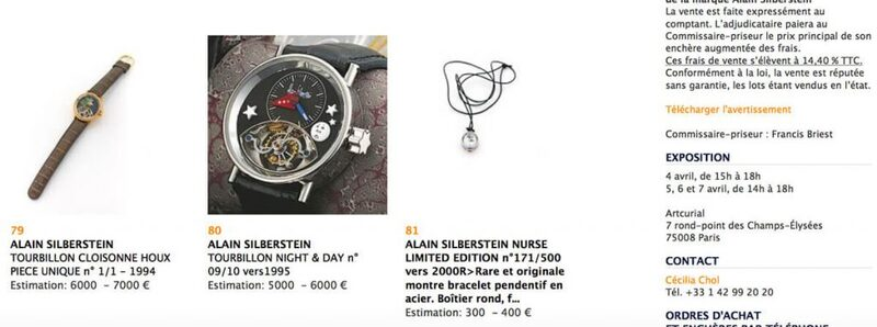 My First Auction Purchase: Alain Silberstein Pendant Watch - Reprise | Quill & Pad