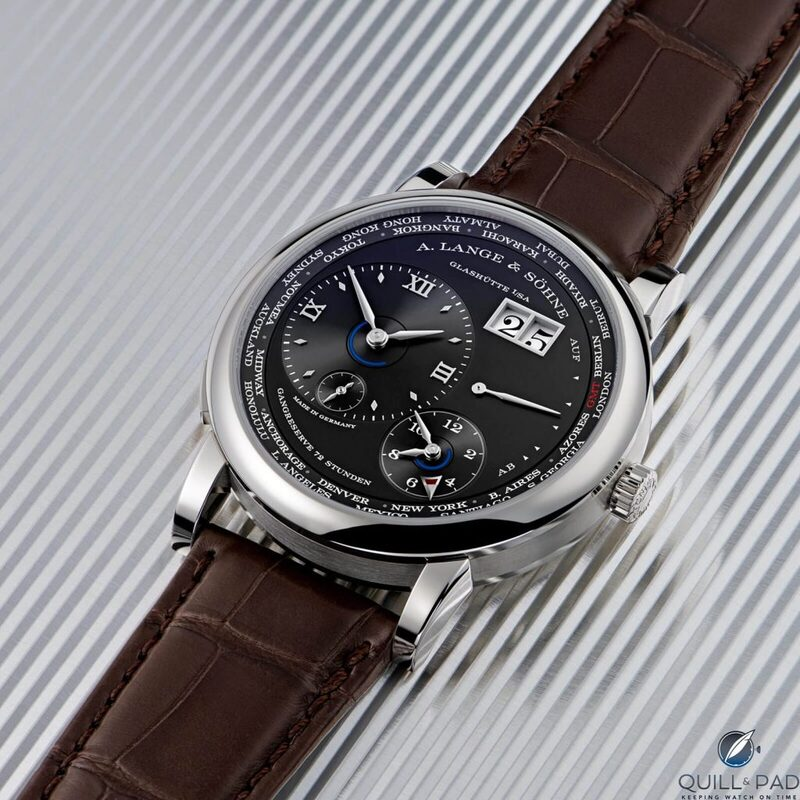 New A. Lange & Söhne Lange 1 Time Zone For 2020: All The Time In The World, Including Daylight Saving   Quill & Pad