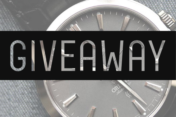 Orient Curator GIVEAWAY!!! Closed!