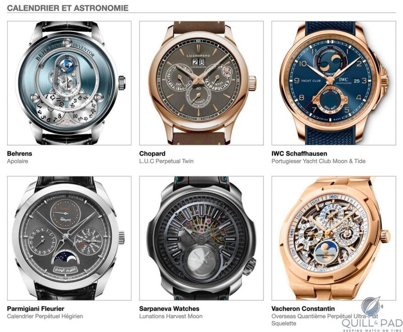 Our Predictions In The Calendar And Astronomy Category Of The 2020 Grand Prix d'Horlogerie de Genève (GPHG): We See A Good Moon A-Rising   Quill & Pad