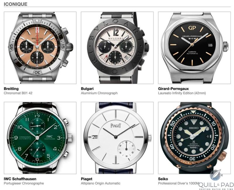 Our Predictions In The Iconic Category Of The 2020 Grand Prix d'Horlogerie de Genève (GPHG): Another Head-Scratcher For Our Panelists But There's A Clear Favorite | Quill & Pad