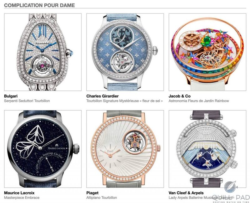 Our Predictions In The Ladies Complication Category Of The 2020 Grand Prix d'Horlogerie de Genève (GPHG): Is A Tourbillon Complicated Enough? | Quill & Pad