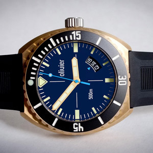 Pairs Well With: Olivier Bronze Diver