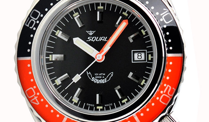 Pairs Well With: Squale 101 Atmos