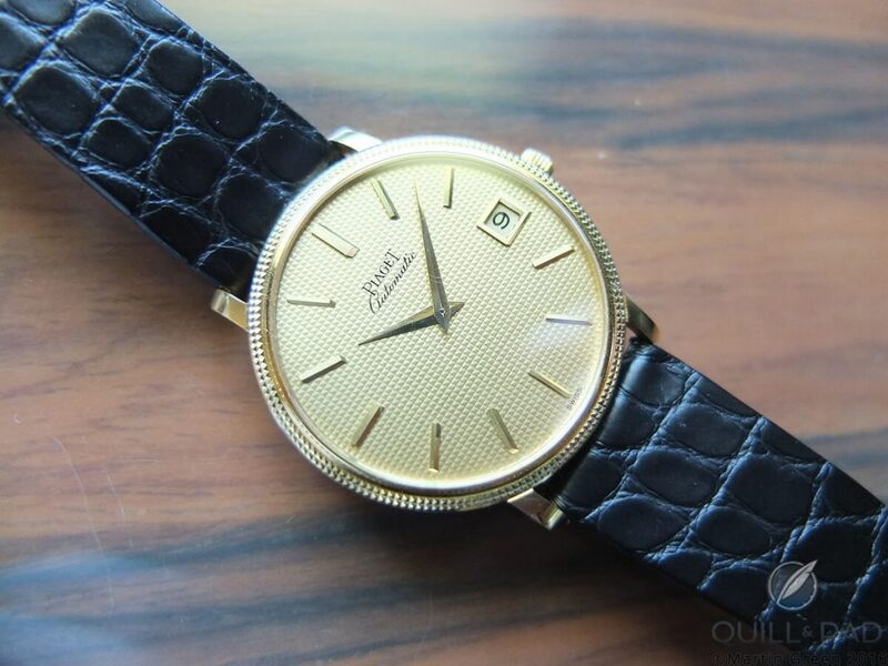 Piaget 12P: The Birth Of An Ultra-Thin Legacy - Reprise   Quill & Pad