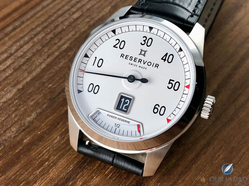 Reservoir Watch Supercharged Classic: (Relatively) Affordable Swiss Quality | Quill & Pad