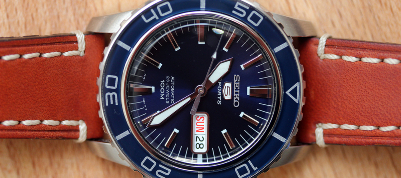 Review: Seiko 5 SNZH53 Diver in Blue