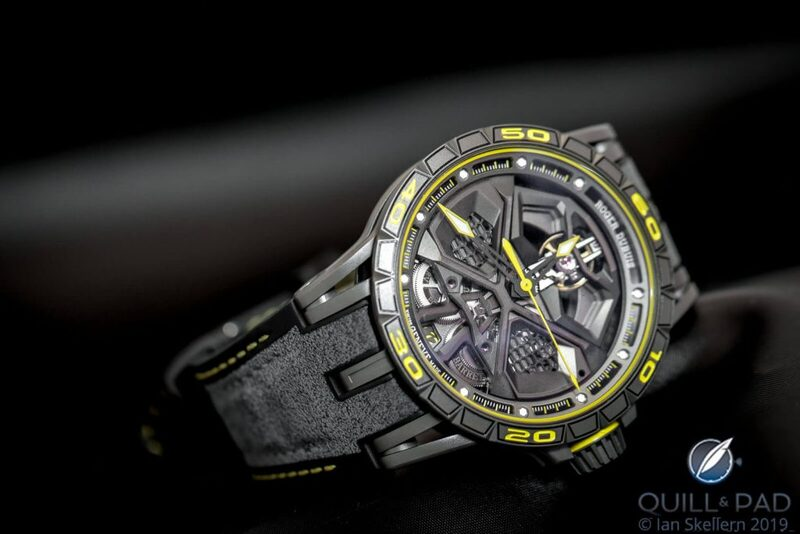 Roger Dubuis Excalibur Huracán Performante: Serious High-Performance Synergy With Lamborghini - Reprise | Quill & Pad